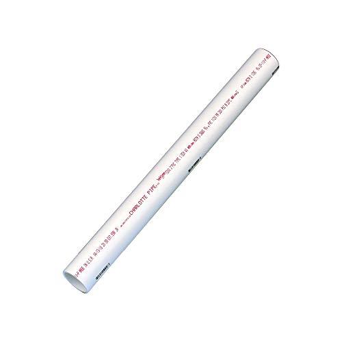 (Charlotte Pipe PVC 07200 0200 DWV SCH 40 PE Pipe, 2', PVC, 2