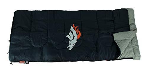 (NFL Denver Broncos Sleeping Bag, Large, Team Color)