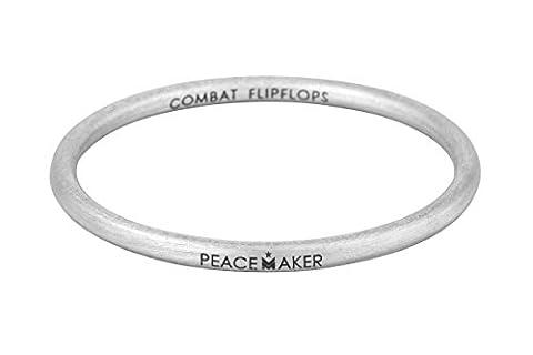 Combat Flip Flops Peacemaker Bangle - Bomb Jewelry (2.75) (Lisa Paz)