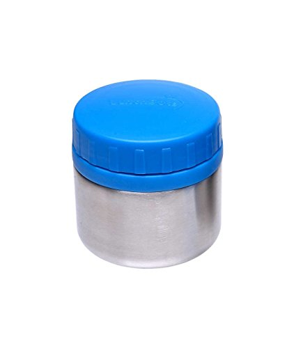 Price comparison product image LunchBots Rounds Stainless Steel Food Container (8 oz) - Leak-Proof Food Jar for Lunch, Yogurt, Snacks and Sides - Eco-Friendly, Dishwasher Safe and BPA-Free - Royal Blue