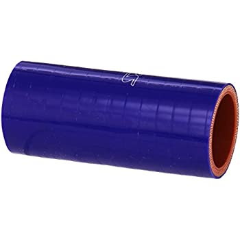 45 PSI Maximum Pressure 4 Length 5 ID HPS HTSC-500-L4-BLUE Silicone High Temperature 4-ply Reinforced Straight Coupler Hose Blue