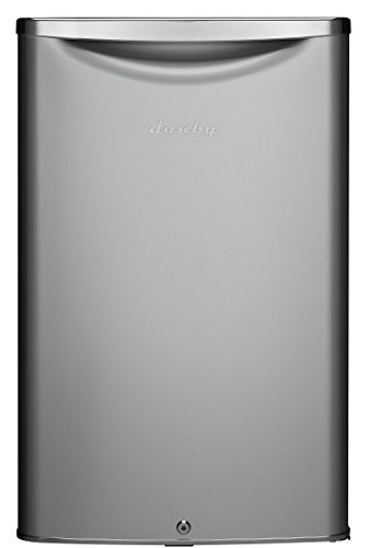 (Danby DAR044A6DDB 4.4 cu.ft. Contemporary Classic Compact All Refrigerator, Iridium Silver Steel)