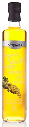 Rayners Organic Raw White Wine Vinegar With Mother 500ml