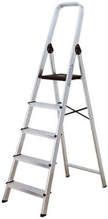 Habitex 2429C3 - Escalera Aluminio T Cuad 3 Peld: Amazon.es: Hogar