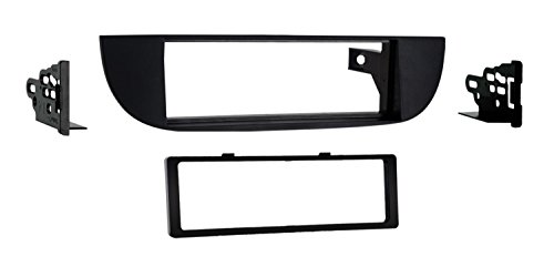 Metra 99-6515B Single DIN Dash Kit for Fiat 500 2012-Up, Black