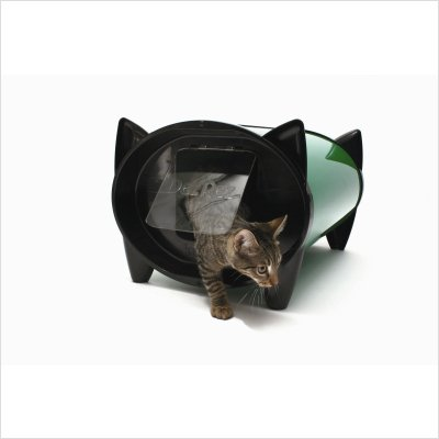 KatKabin DezRez Standard – Spring Green, My Pet Supplies