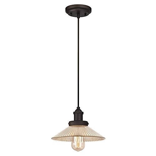 Ribbed Pendant Light in US - 5