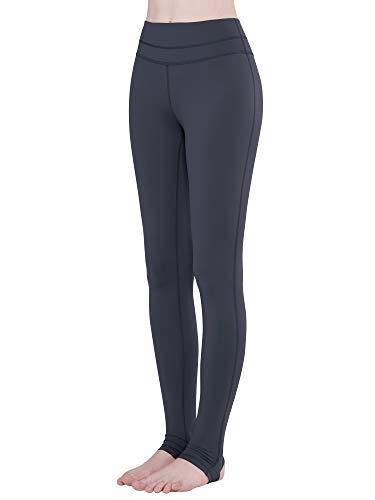 - LaiEr Women's High Rise Foot Stirrup Sports Yoga Pants (Ink Grey, XX-Large)