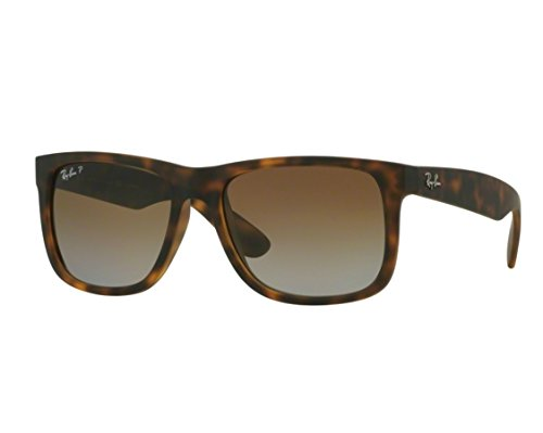 Ray-Ban Justin Sunglasses RB 4165 865/T5 55mm Polarized + SD Glasses + - Justin Polarized Rb