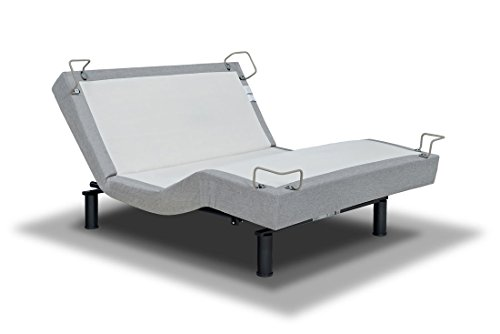 REVERIE 5D DELUXE ADJUSTABLE BED FROM THE MAKERS OF THE TEMPURPEDIC ERGO TWIN XL