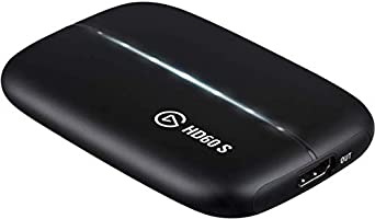 Elgato Game Capture HD60 S - stream, record and share your gameplay in 1080p60, superior low latency technology, USB...