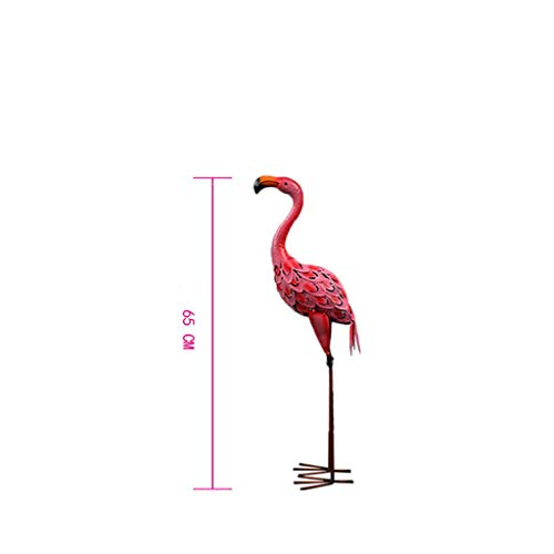 Wedding Scene Decoration, Iron Flamingo Decoration, Garden Decoration Window Props, Metal Crafts(A)