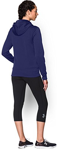 Armour Ii Hood Af Donna Under epp Ua Sweatshirt Fitness Tubo A Fz Viola HnF0Fdx