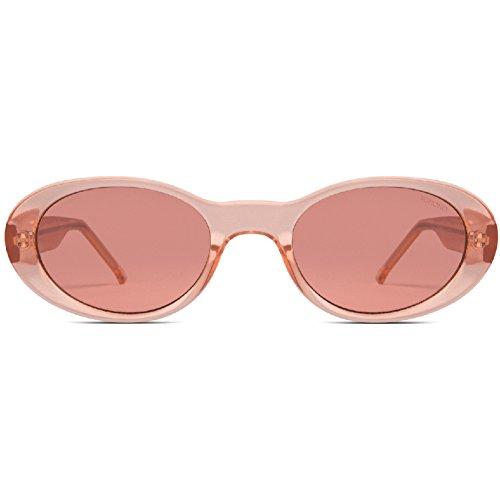 KOMONO Alina Sunglasses in Peach