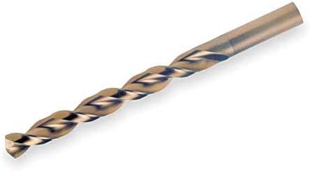 27//64 Cobalt Black//Gold 135 Deg Jobber Length Drill Bit
