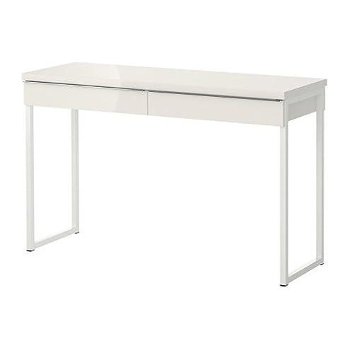 Ikea schreibtisch schwarz weiß  IKEA Schreibtisch / Laptop-Tisch