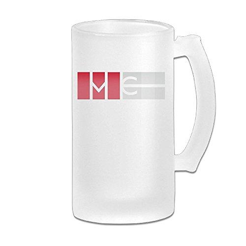Magcon Tour Logo Grind Beer Glass Mug - Logo Lenes