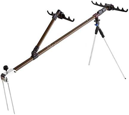 多機能アルミ合金釣りロッドブラケット調整可能伸縮釣りロッドブラケットサポート三脚