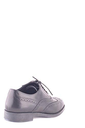Tod's Mujer MCBI293110O Negro Cuero Zapatos De Cordones