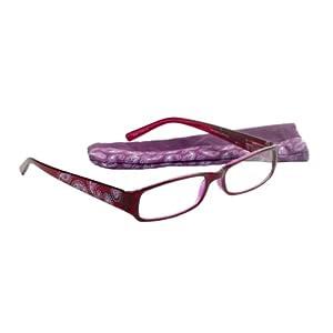 Select-A-Vision Paisley Victoria Klein Fashion Readers, Purple, +2.00