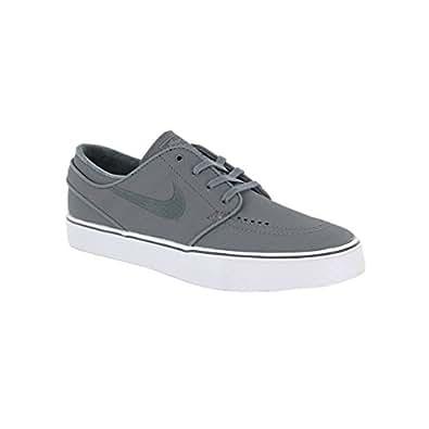 Nike Men's Zoom Stefan Janoski Skate Shoe Cool Grey/ DK Grey-White 10 D(M) US