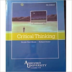 Critical thinking moore parker   th edition answers     Pinterest
