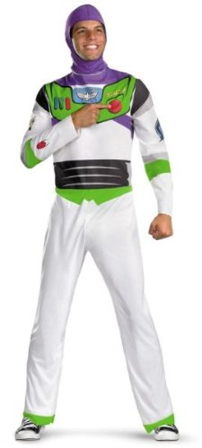 Buzz Lightyear Fancy Dress Adult (Buzz Lightyear Adult Costume - X-Large)