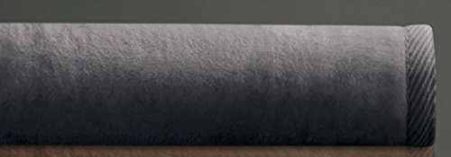 """DownTown Company """"Granny"""" 100% Natural Egyptian Cotton, Cashmere Soft Blanket, Imported from Portugal, Gray Color , King Size"""