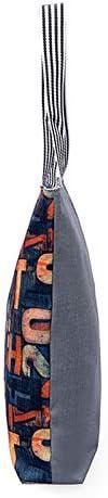 45cm 43 Style1 MoGist Sac de Plage en Toile avec Fermeture /Éclair pour Femme