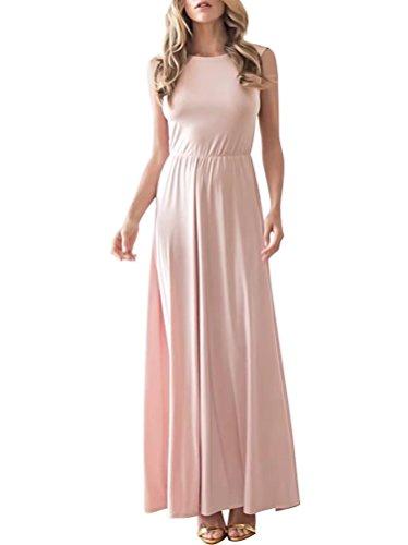 AiniDress Dress Prom Chiffon Blush For Wedding Long Dance Dress Party Evening Women's aA1aw4