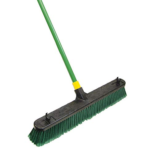 - Quickie Bulldozer Push Broom, Green