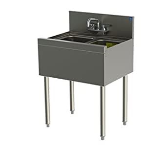 Perlick Corporation TSD22C TSD Series Underbar Sink Unit