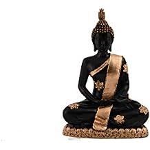 Ekavya Meditating Seated Buddha Statue Figurine Thai Buddha Statue Thai Buddha Meditating Peace Harmony Statue Religious Figurine Memorable Sculpture