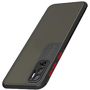 TheGiftKart Translucent Hybrid Poco M3 PRO 5G Back Case Cover | Smoked Matte Back | 360 Degree Protection | Protective…