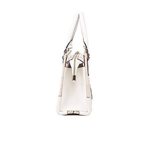 New Fashion Damentasche 2019 Casual Damentasche Rattan Weben Damentasche Milky White