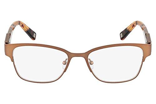 Óculos De Grau Nine West Nw1051 208/50 Marrom Claro
