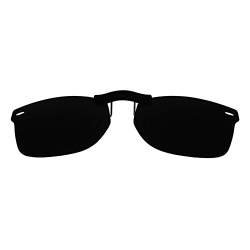 Custom Polarized Clip On Sunglasses for Ray-Ban RB5228 (RX5228) 50-17-140(No Frame) - Rb5228 On Clip
