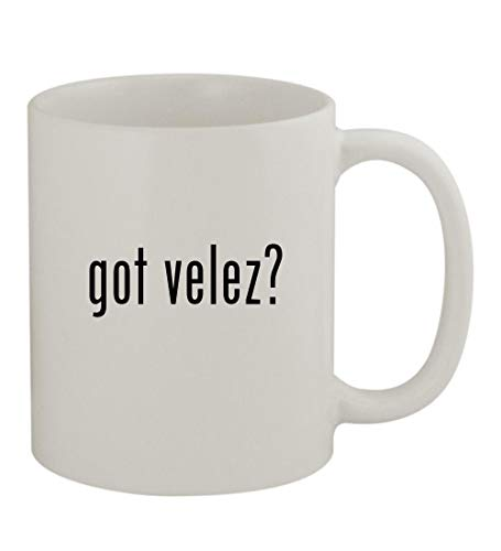 (got velez? - 11oz Sturdy Ceramic Coffee Cup Mug, White)