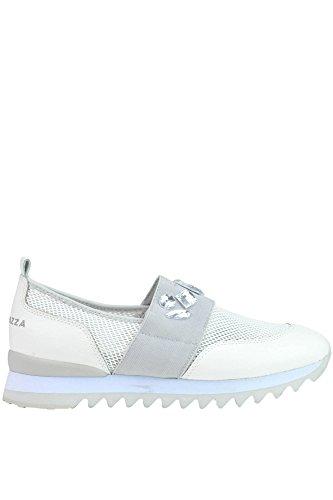 Apepazza Zapatillas de Otra Piel Para Mujer Blanco Blanco