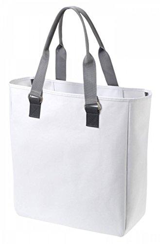 Designer Shopper Damen Herren Tasche weiß Handtasche Einkaufstasche Tasche