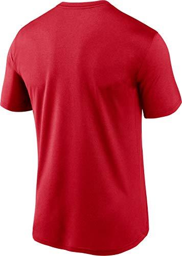 Nike Men's Washington Nationals Red Authentic Collection Legend Dri-FIT T-Shirt 2