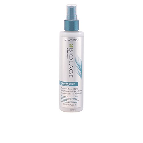 BIOLAGE Advanced Keratindose Pro-Keratin Renewal Spray For Overprocessed Damaged Hair, 6.7 Fl. Oz.