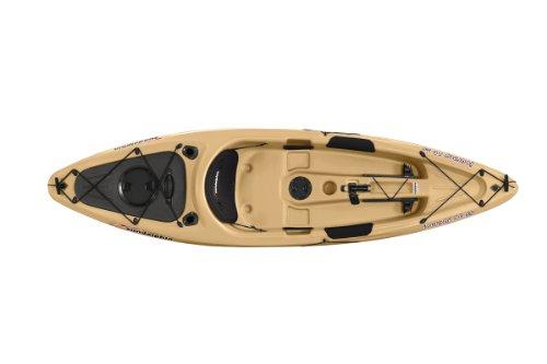 Sun dolphin journey sit on top fishing kayak sand 10 for Sun dolphin fishing kayak accessories