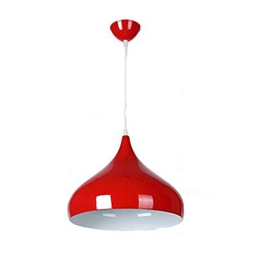Red Hanging Pendant Light - 4