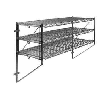 Metro Regular Erecta Wall Mount 18'' 31-5/8'' 1 To 5 Shelves 18WB5C Metro 18' Shelf