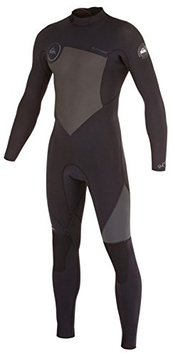 5/4/3mm Men's Quiksilver SYNCRO Full Wetsuit - Black, - Lt Wetsuit
