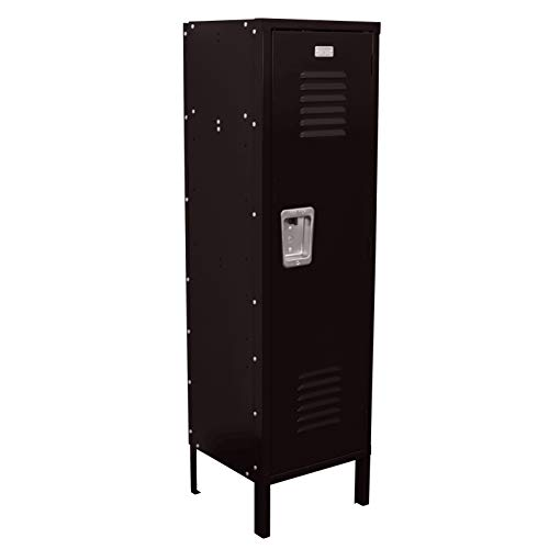 Kids Locker 15W x 15D x 54H Unassembled in 8 Amazing Colors (Black)