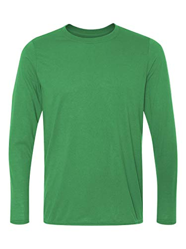 Gildan mens Performance 4.5 oz. Long-Sleeve T-Shirt(G424)-IRISH GREEN-3XL