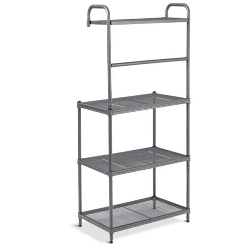 Baker's Rack Microwave Oven Stand Shelves Kitchen Storage Rack Organizer 4-Tier by Shining (Image #2)