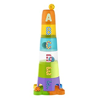 Chicco-0000930800000 Super Stackable Tower, Multicoloured (Artsana 13)